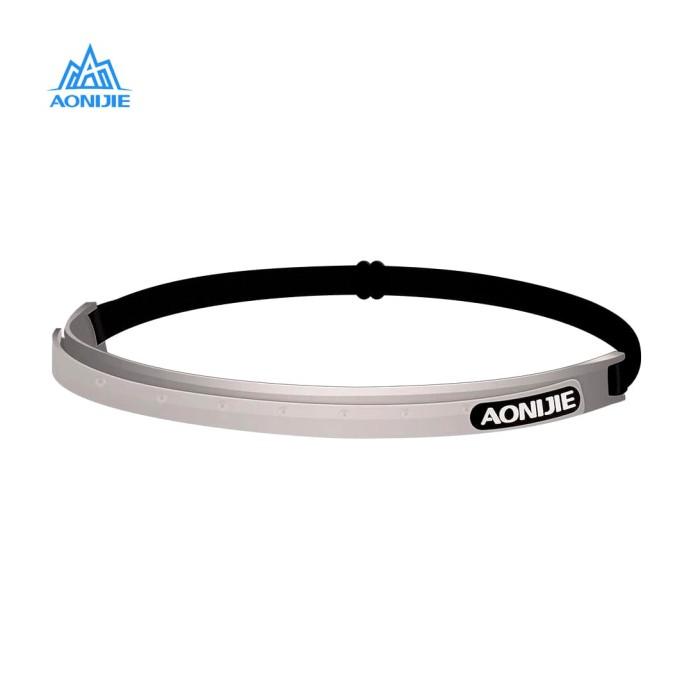 harga Aonijie e4088 silicone sweatband elastic - penahan keringat gray Tokopedia.com