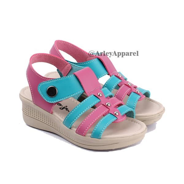 Foto Produk Sandal Wedges Kasual Anak Perempuan Original Catenzo Junior CTG 013 dari Arley Apparel