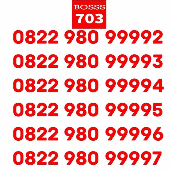 Nomor cantik telkomsel simpati 4G ekor 9809999