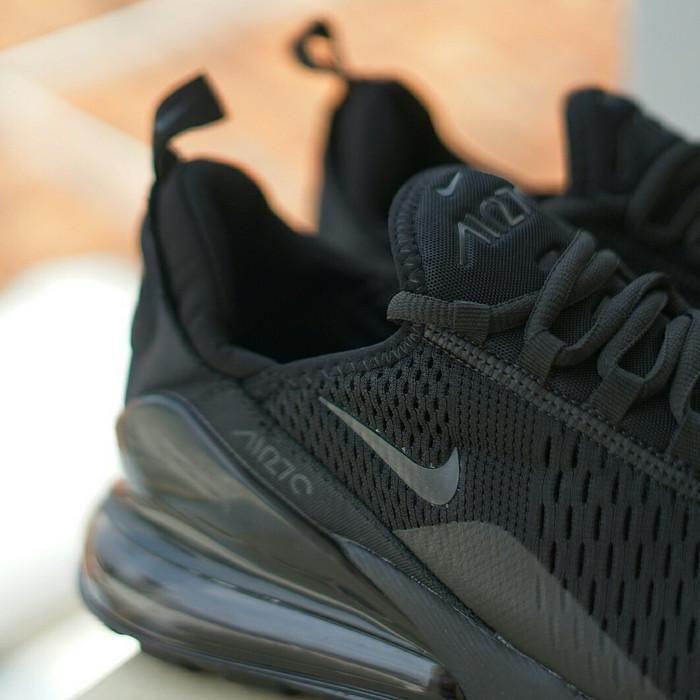 half off 50a42 bd49d shopping nike airmax 270 all black premium original sepatu air max sneakers  blanja 95eee 23780