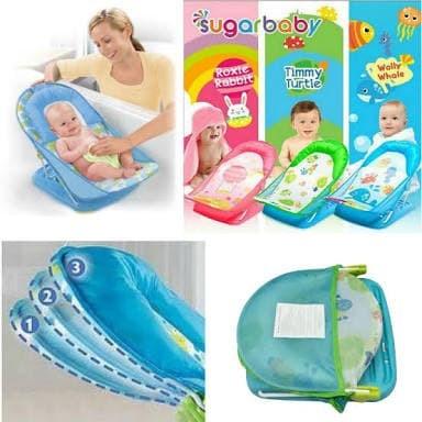 JATENG DIY Deluxe Baby Bather Sugarbaby Alat Memandikan Bayi Kursi .