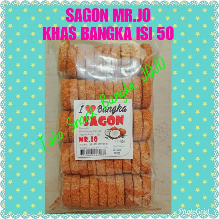 Sagon bangka mr.jo isi 50pcs oleh oleh snack makanan kue khas bangka