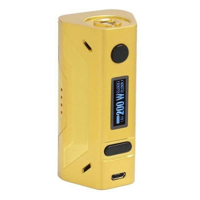 PAKET NGEBUL MOD SMOANT BATTLESTAR 200W GOLD VAPE AUTHENTIC RTA KIT