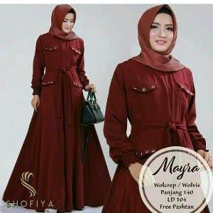 Jual Baju Gamis Mayra Murah Jakarta Selatan Barokah Shop17 Tokopedia