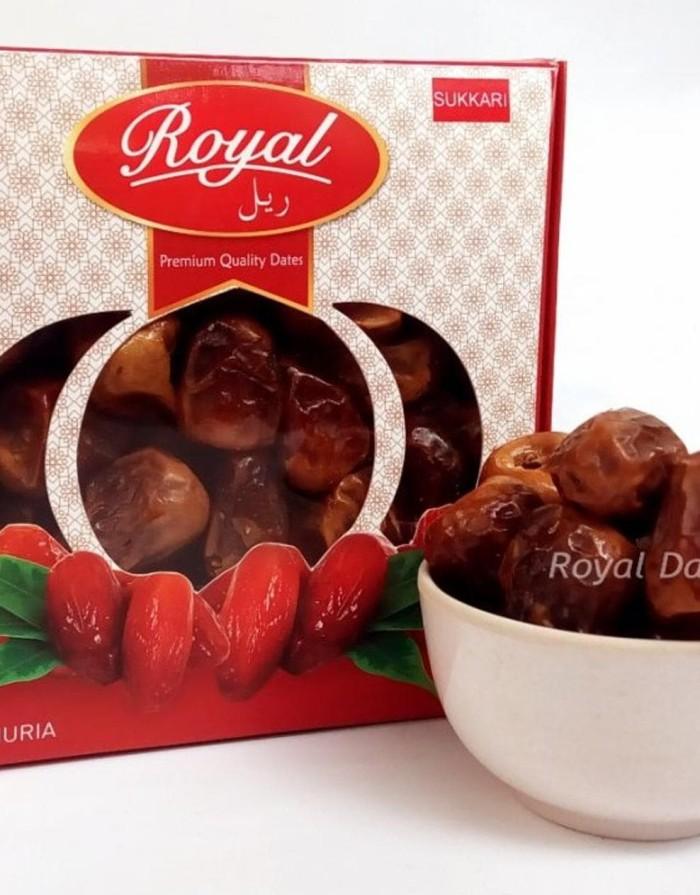 harga Kurma Royal Dates Ruthab Sukari 500 gram Tokopedia.com