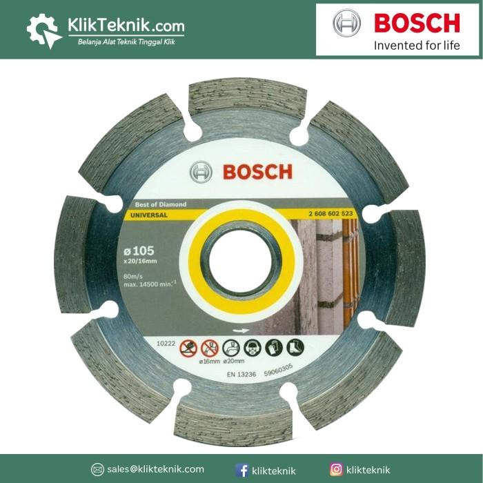 Jual Bosch Diamond Mata Potong Best Segmen Universal 105mm Harga Promo Terbaru