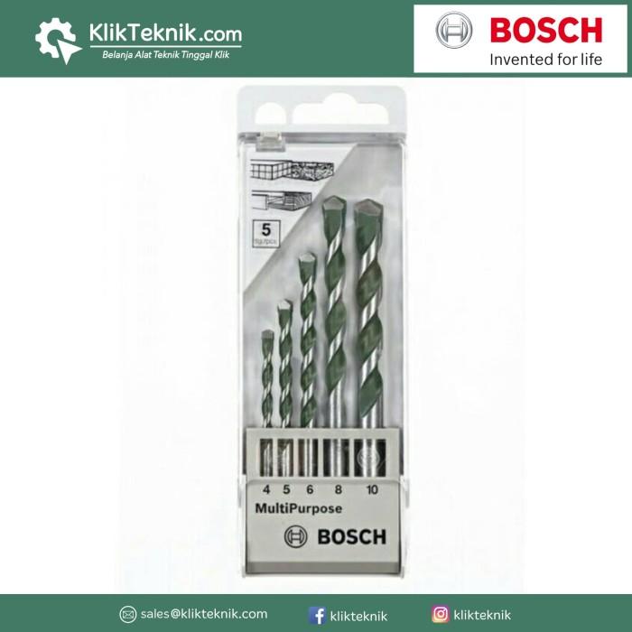 Jual Bosch  Cyl-4 Mata Bor Tembok Set 5s Serbaguna Harga Promo Terbaru