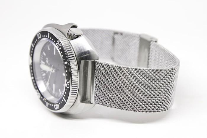 Foto Produk Tali Rantai Jam Tangan - Shark Mesh #2SS Stainless Steel Bracelet 20mm dari Watch N Strap