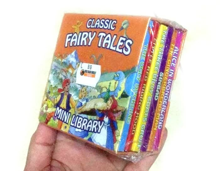 harga Classic fairy tales (6 mini books). baby board book . buku import bbw Tokopedia.com