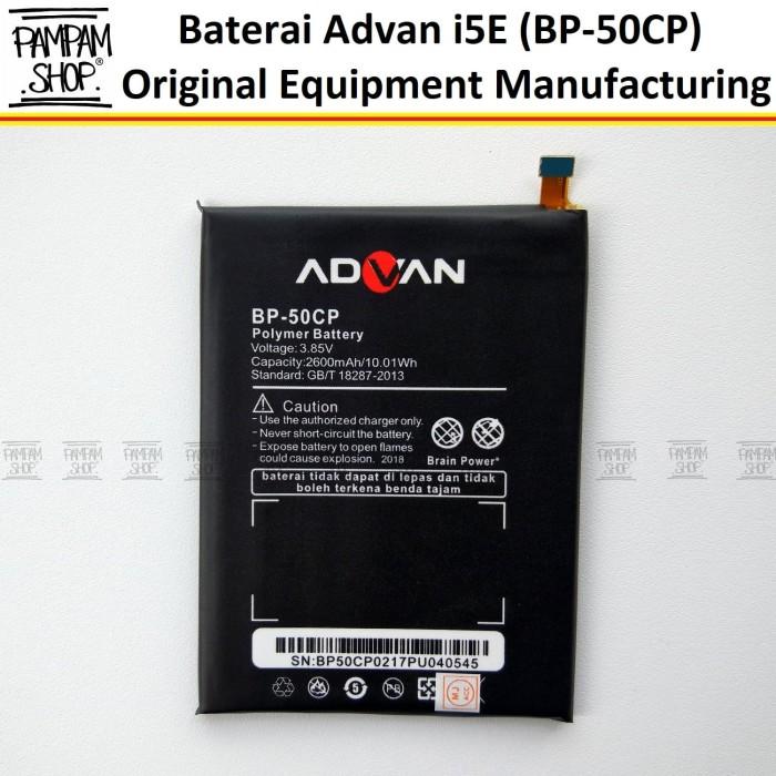harga Baterai handphone advan i5e bp-50cp bp50cp original batre batrai i 5e