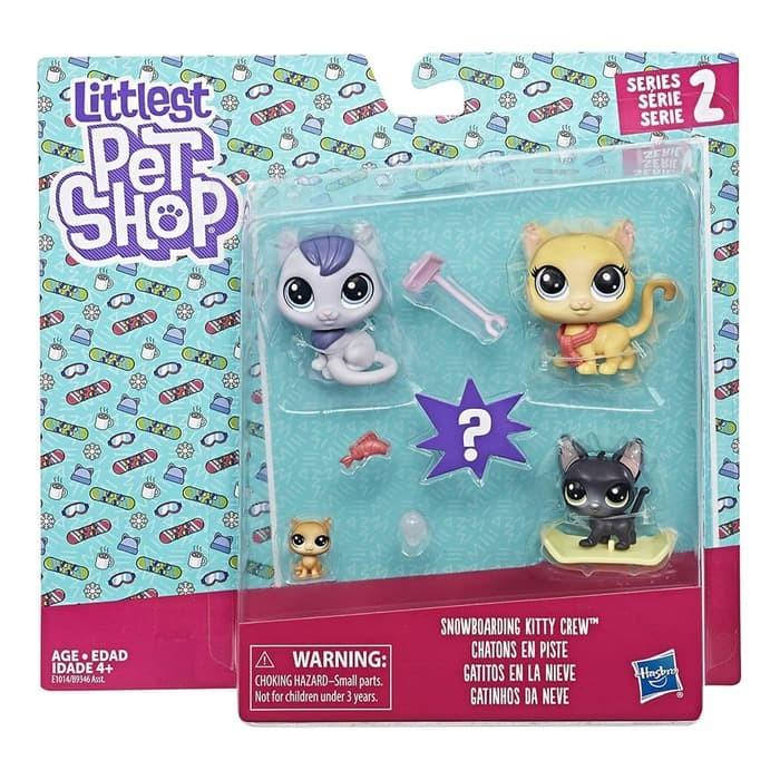 harga Littlest pet shop series 2 snowboarding kitty crew 100% ori Tokopedia.com