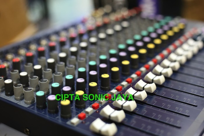 harga Mixer soundcraft efx 12. full 12 chanel Tokopedia.com