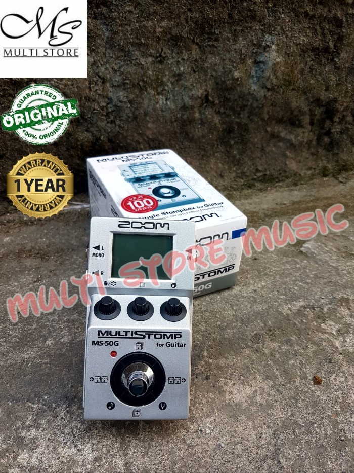 harga Zoom ms50g / ms50 g / ms 50g / ms 50 g - multi guitar stompbox effects Tokopedia.com