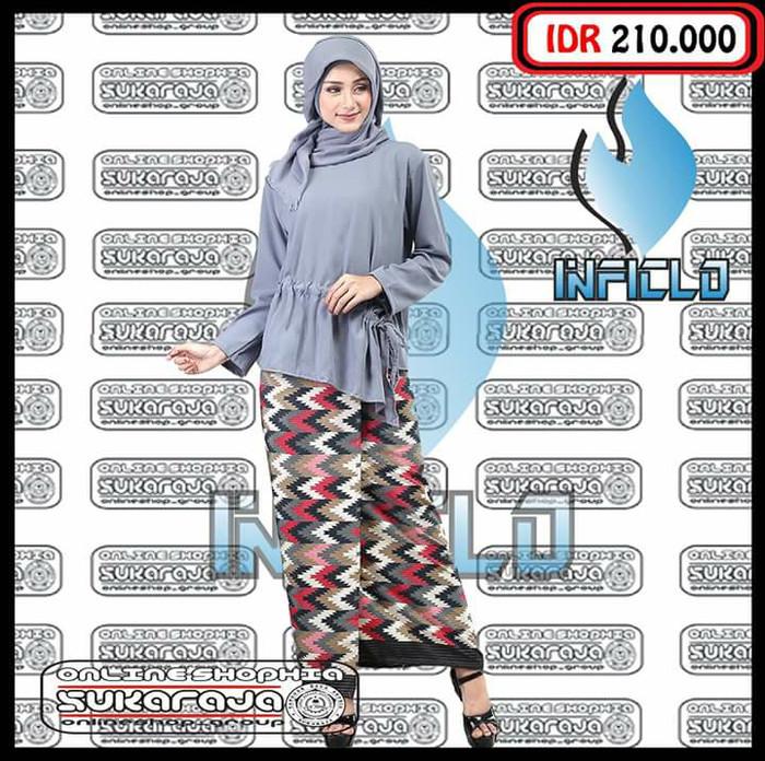 Jual Gamis Kaftan Abaya Busana Muslimah Baju Tunik Jilbab Murah Shj 892 Kota Bandung Wulandari Woman Bagshop Tokopedia