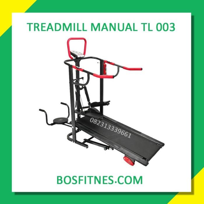 harga Treadmill manual 5 fungsi treadmill manual bfs-2003 melayani cod Tokopedia.com