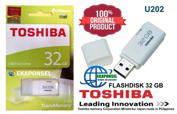 Toshiba Flashdisk Hayabusa 32 Gb Original