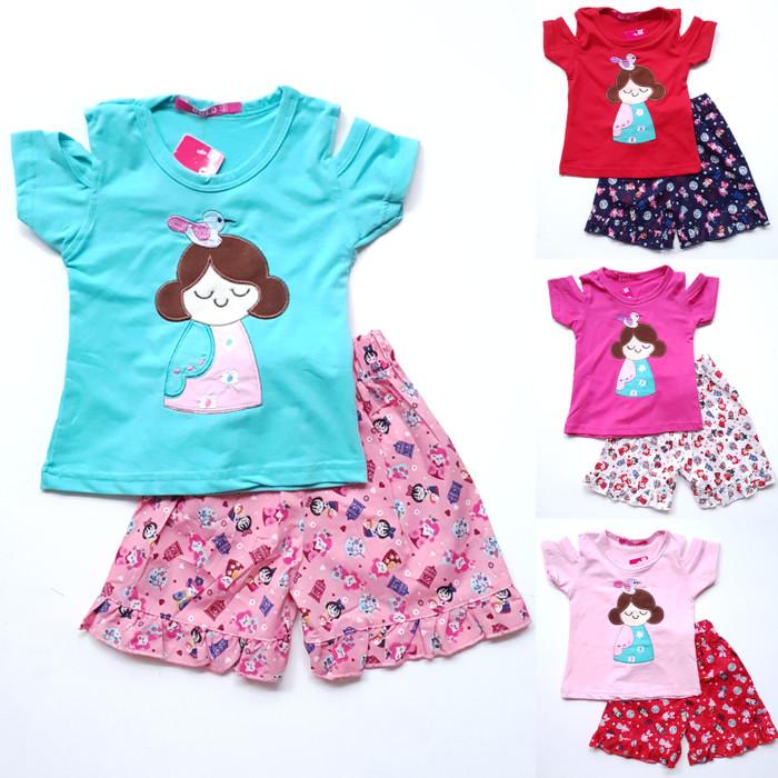 (2-4t) baju setelan anak perempuan…
