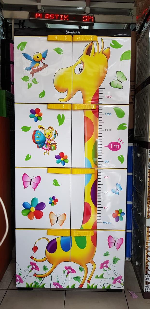 Lemari Plastik Lemari Pakaian Homey Premium Susun 4 Jumbo - Blanja.com