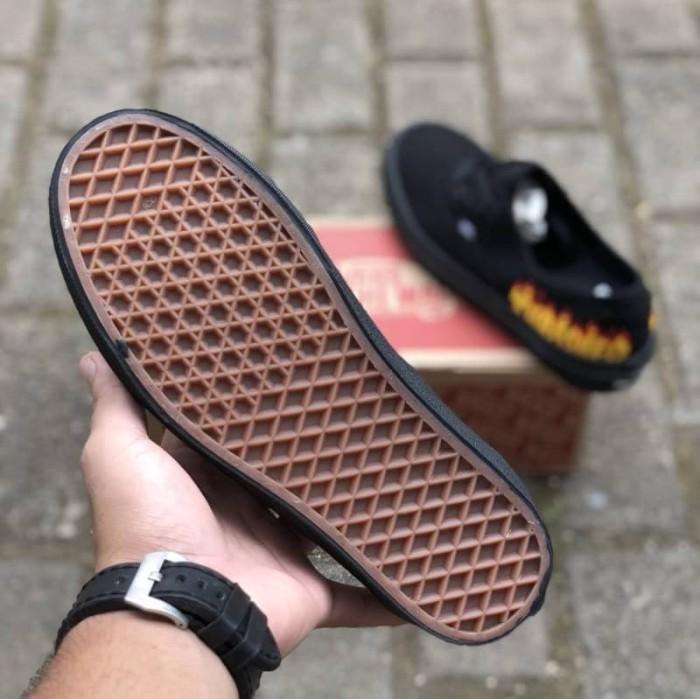 Sepatu Vans Authentic x THRASHER Premium Waffle ICC Limited Stok Murah 6461906798
