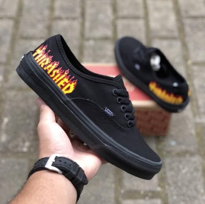 Sepatu Vans Authentic x THRASHER Premium Waffle ICC Limited Stok Murah 95aece74ee