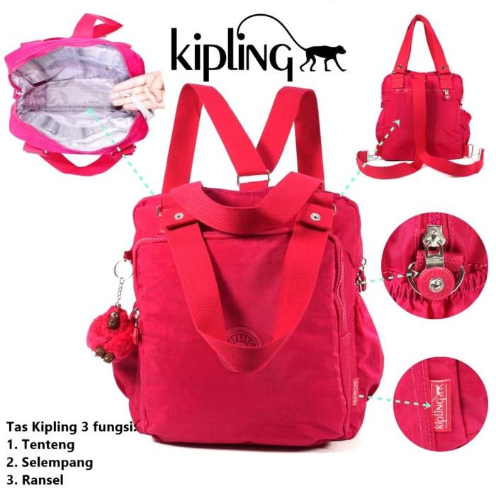 Jual Tas Kipling 3in1 5749- Tas Jinjing - Tas Selempang - Tas Ransel ... ced478dd75