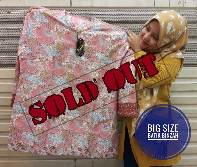 harga Blus jumbo batik binzah kode 0368 (big size) Tokopedia.com