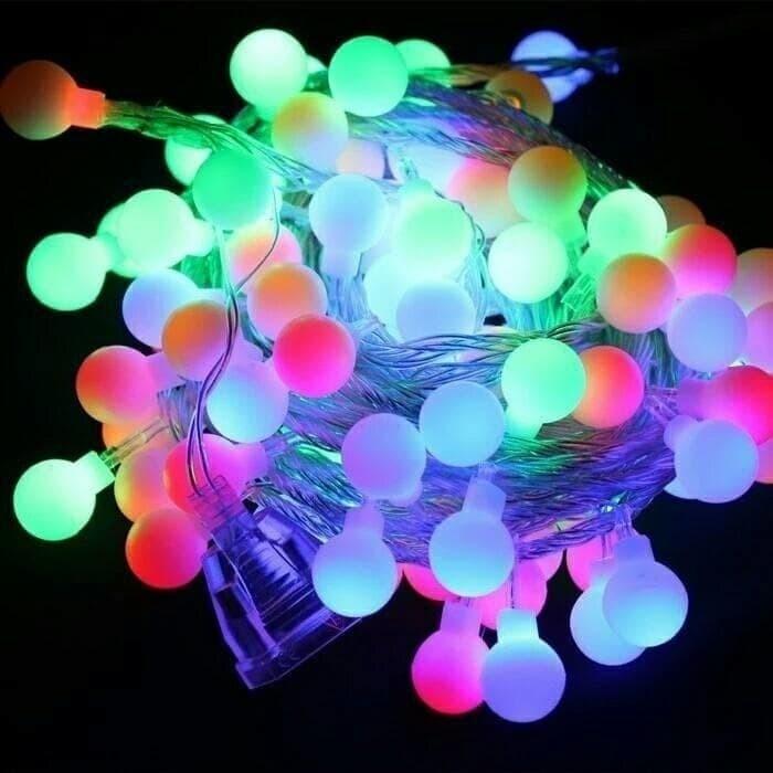 harga Lampu hias bola anggur / kelereng - lampu tumblr / lampu natal bola Tokopedia.com