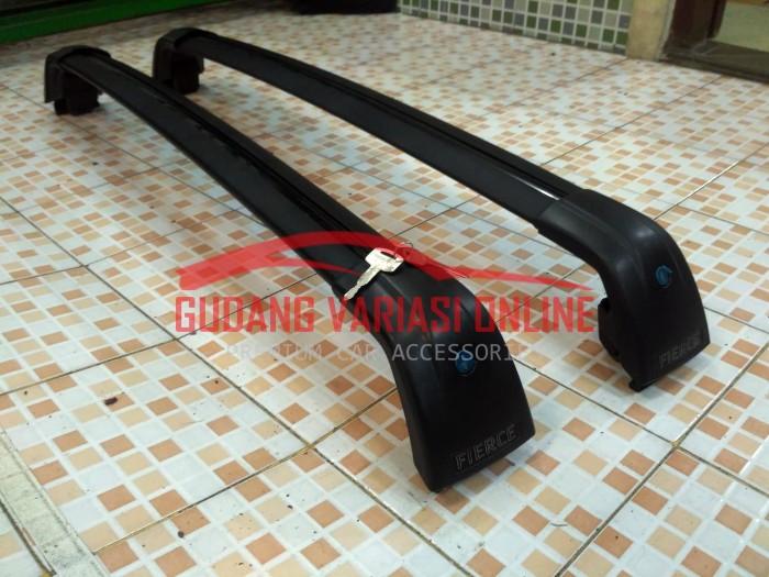 harga Crossbar jepit roof rail fierce / crossbar fierce black premium series Tokopedia.com