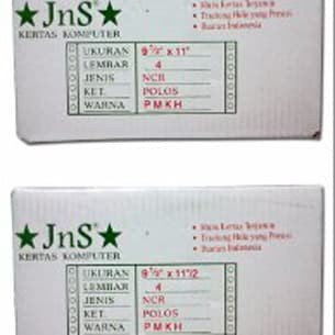 harga Kertas continuous from merek jns 4 play putih Tokopedia.com