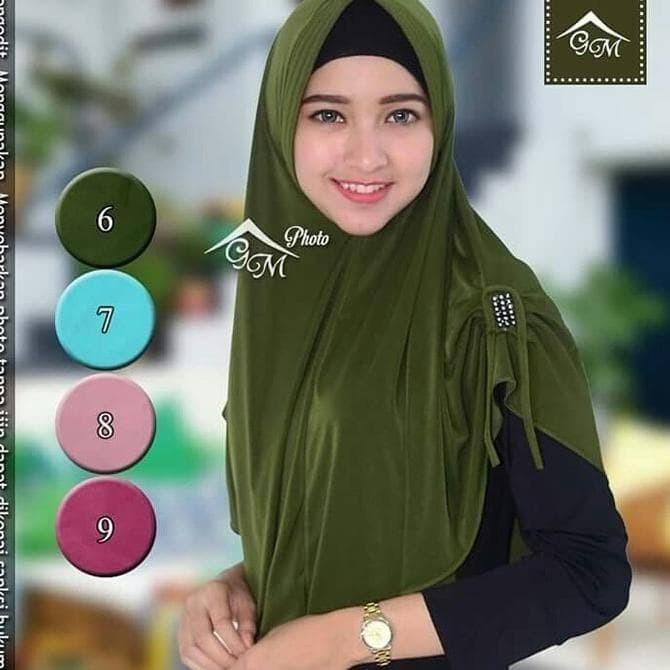 Jual Harga Sale Murah Jilbab Hijab Langsung Instan Bergo Pet Antem Kota Bekasi Geloraindah Tokopedia