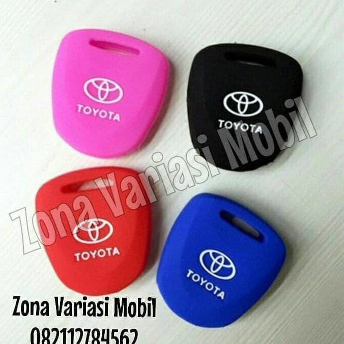 Silikon Case / Kondom / Sarung kunci Remot Remote Mobil Toyota Calya