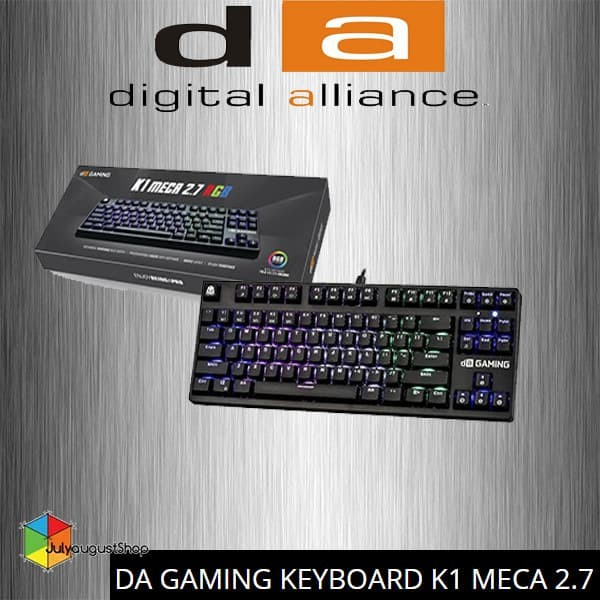 3b08615782d Jual Digital Alliance Keyboard Gaming TKL K1 MECA 2.7 RGB - Kota ...