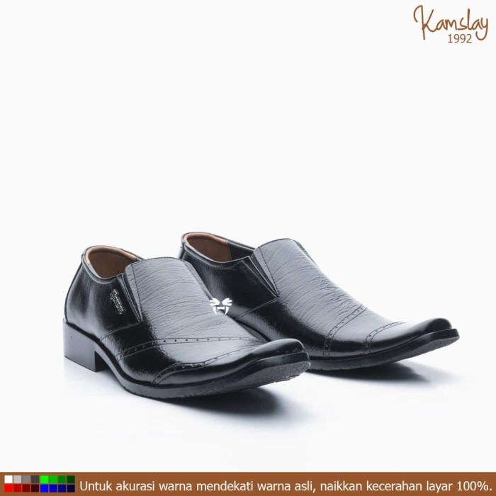 Jual Sepatu Brogue L Tip Slip On Pantofel Pria Kulit Asli Sorong