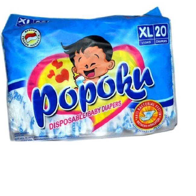 harga Popok bayi tipe perekat (popoku) size xl isi20 Tokopedia.com
