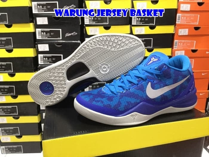 Jual Sepatu Basket Kobe 8 Blue Coral Kota Surabaya Warung