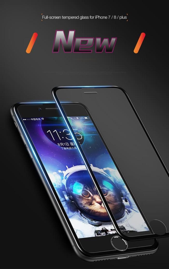 harga Cafele iphone 7 / 8 / 7+ / 8+ fullscreen seamless cover tempered glass Tokopedia.com