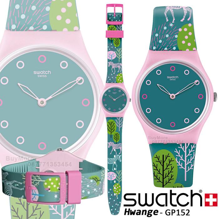 harga Swatch gent gp152 hwange original jam tangan wanita anak2 remaja cewek Tokopedia.com