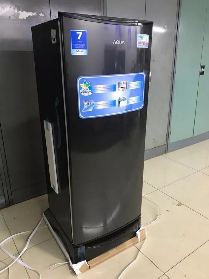 harga Kulkas 1 pintu aqua sanyo d 190 ds black Tokopedia.com