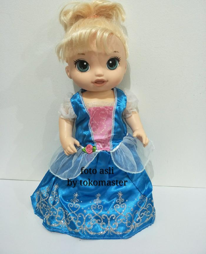 harga Original baju boneka baby alive disney doll 20 inch 50 cm cinderella Tokopedia.com