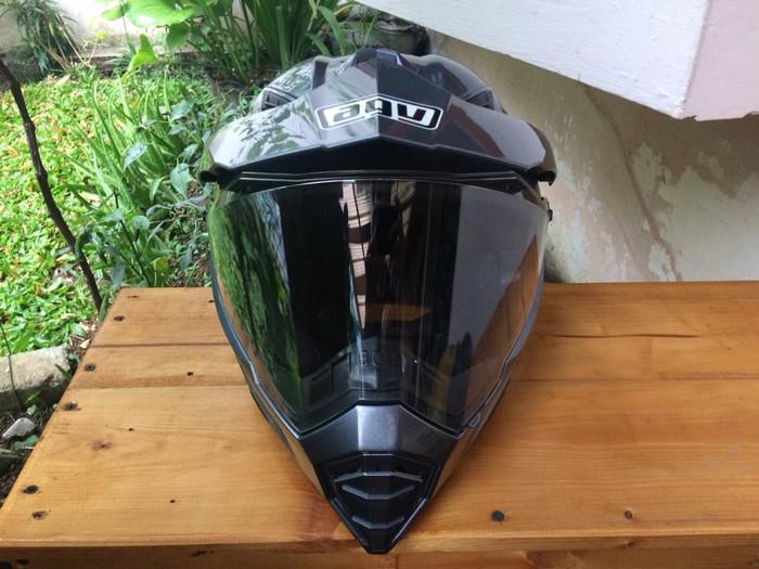 Helm AGV AX8 Evo Dual supermoto arai tour cross hjc airoh shoei nolan 1