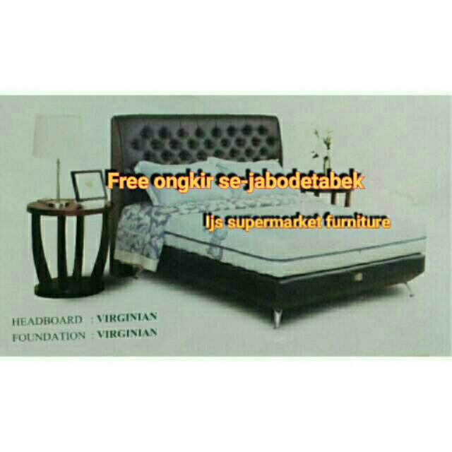 ... Springbed Cream Size 90 x 200 HB Elegance Full Set Source 1 SET KASUR INDULGENCE UK