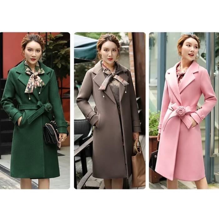 harga Women long coat | minimalist style long coat Tokopedia.com