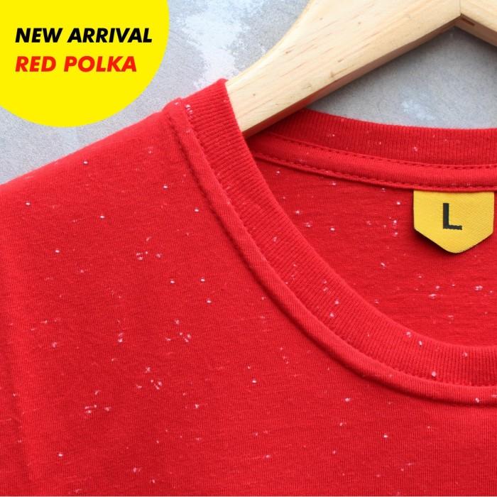 harga Kaos baju polos red polka pria wanita cewe cowo Tokopedia.com