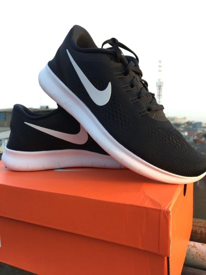 harga Sepatu running nike free run black white anthracite 100% original! Tokopedia.com
