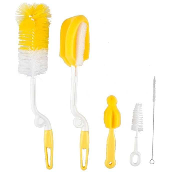harga Set peralatan pembersih dot bayi 5pcs - multi warna Tokopedia.com