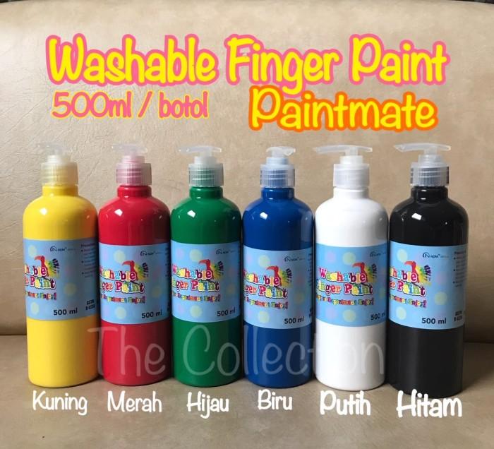 Jual Atk537pm 500ml Washable Finger Paint Paintmate Cat Air Jari