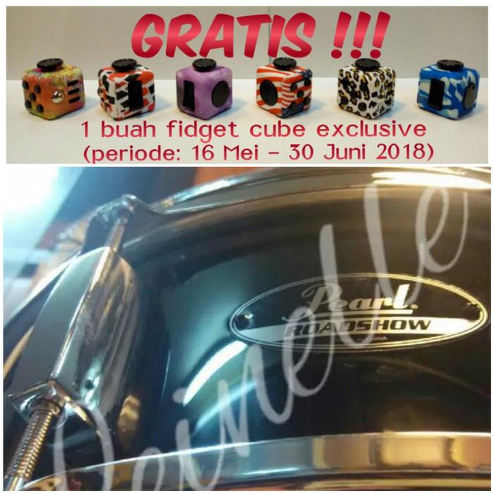 harga Pearl snare drum roadshow jet black Tokopedia.com