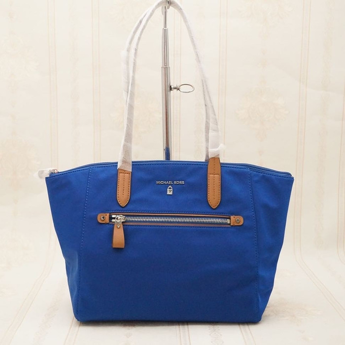 1eacf0936437 Tas Michael Kors Original / MK Medium Kelsey Nylon Tote Electric Blue