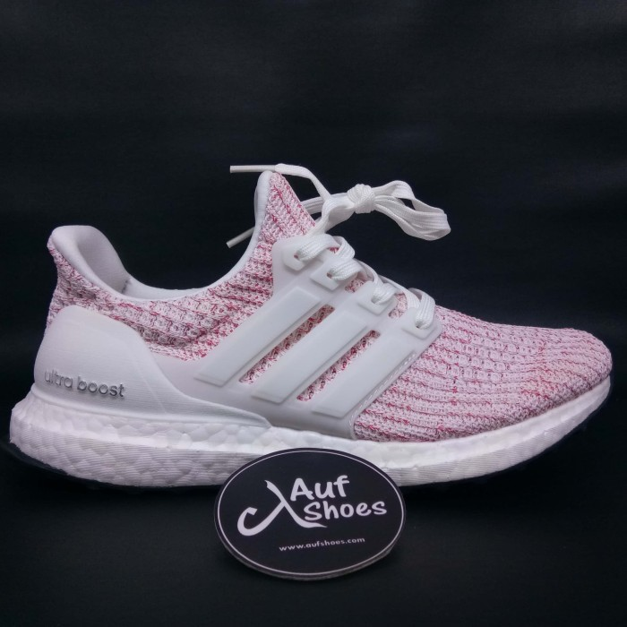 Jual Adidas ultra boost 4.0 candy cane white pink BB6169 - Putih aae4fa3e5