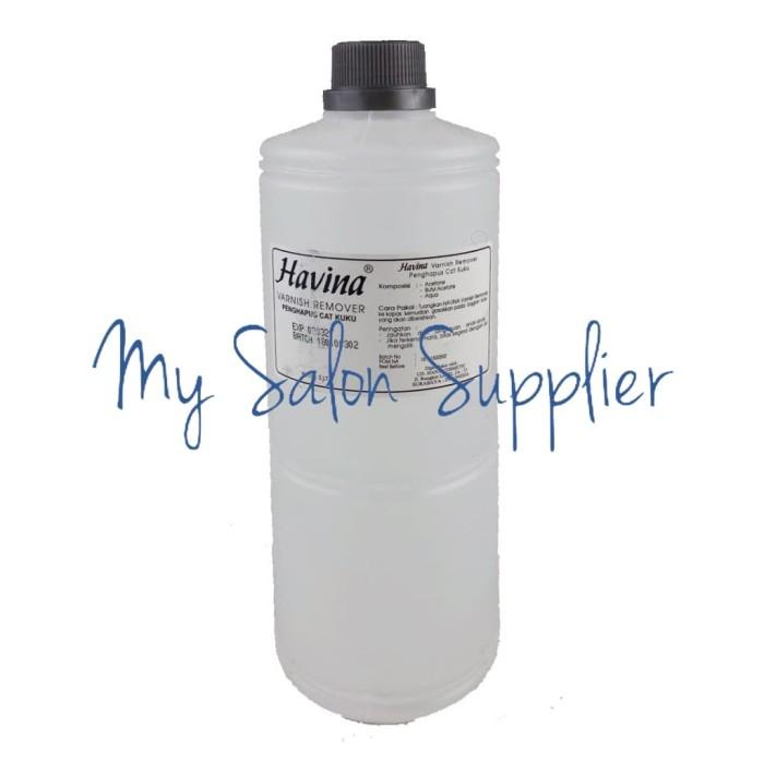 Jual Havina Nail Polish Remover 1L / Aseton / Aceton - My Salon Supplier |  Tokopedia